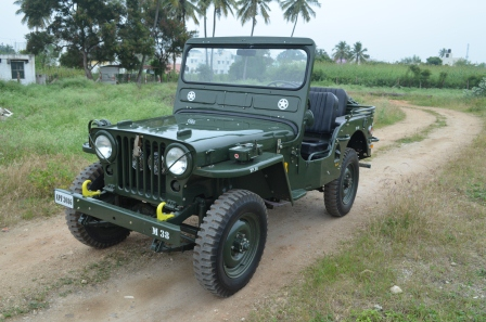 Fully restored willys cj2a jeep