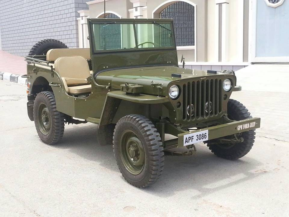 Restored willys gpw