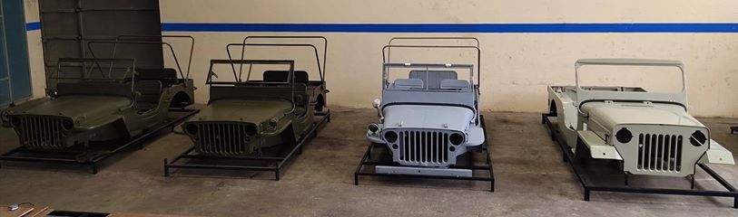 jeep replacement body shell